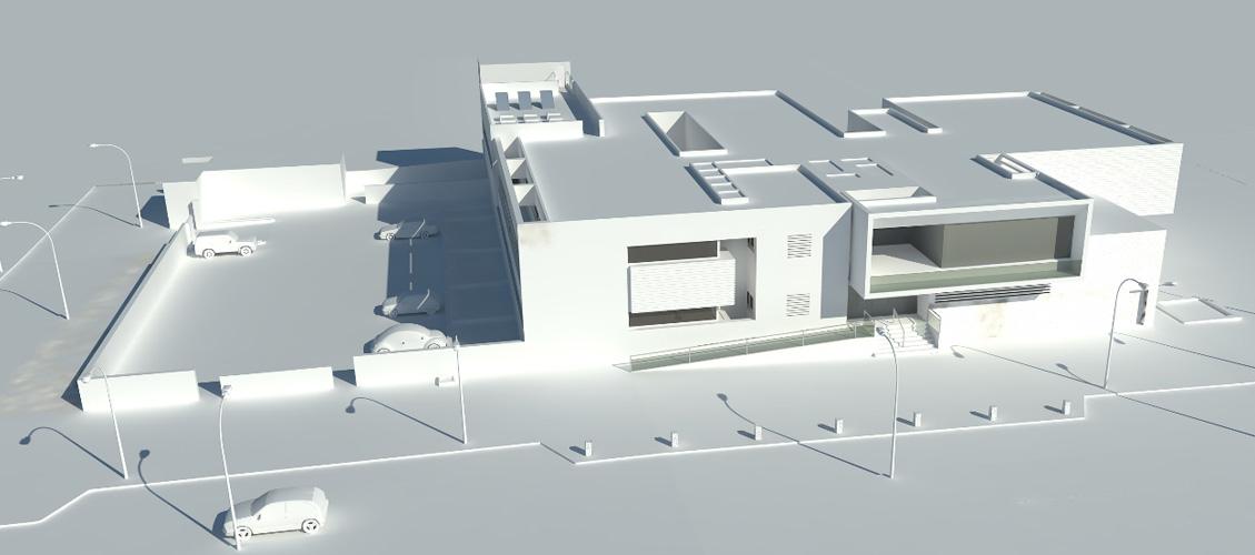 Arquitectos centro de salud arquitectura dotacional ordaz - Centro de salud aravaca ...